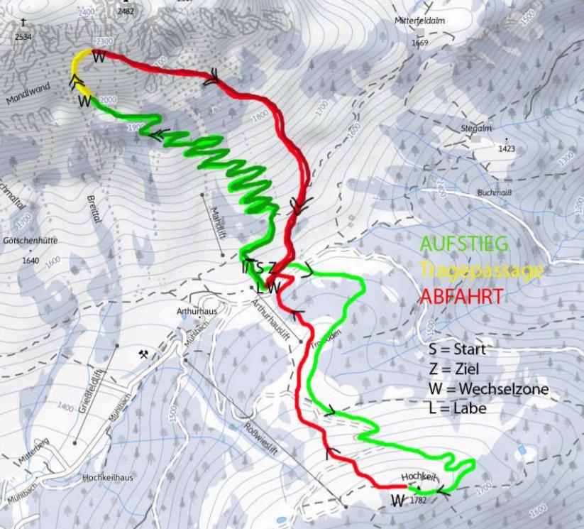 Erztrophy 2017 Strecke Individual Herren