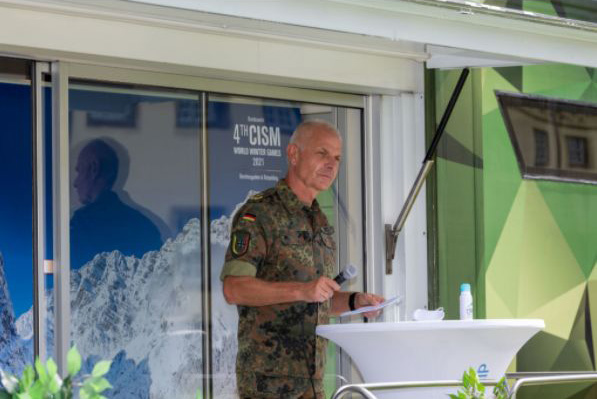 Generalleutnant Jürgen Weigt Quelle 4th CISM WWG Organizing Staff Döhring