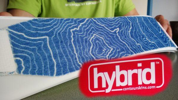Evolution oder Revolution? Die Praxis wird zeigen, wie sich das neue Hybrid Steigfell von Contour bewährt.