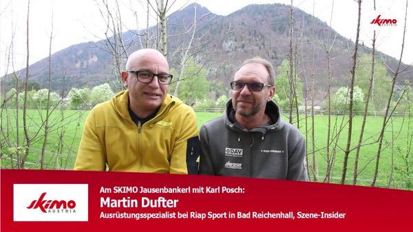 SKIMO Jausenbankerl Martin Dufter
