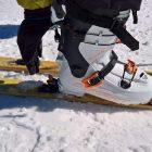Einhandbedienung...notfalls auch mit dem Skischuh