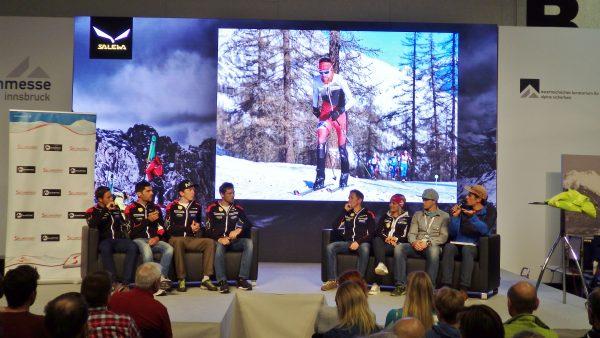 Das ÖSV Team im Skibergsteigen