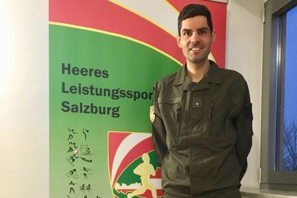Gefreiter Jakob Hermann im HLSZ Salzburg