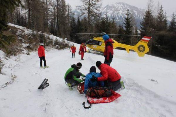 Unfall Wettkampf Skibergsteigen Bild Alexander Lugger 620x413