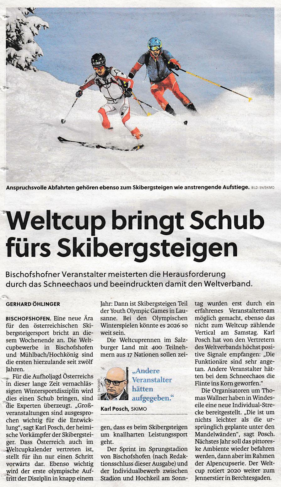 Salzburger Nachrichten 19.1.2019 2