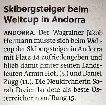Salzburger Nachrichten 29.1.2019