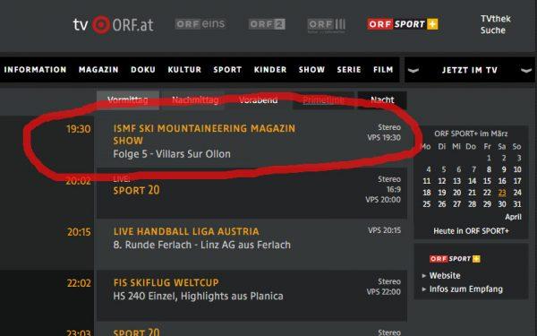 ORF WM Villars