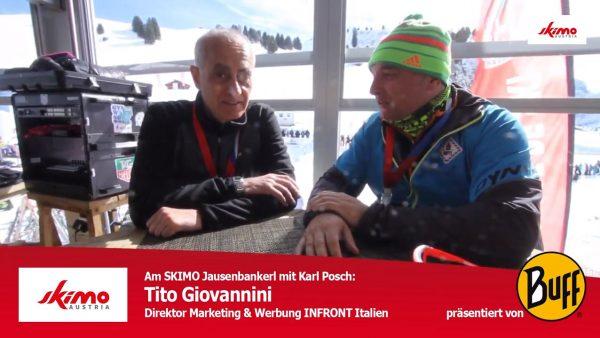 Titelbild Jausenbankerl Tito Giovannini Skimo Austria