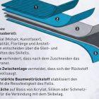 Koch Alpin Contour Steigfelle Aufbau eines Steigfells Bild Koch Alpin GmbH