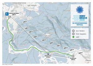 WWMG Streckenkarte SKIMO Patscherkofel