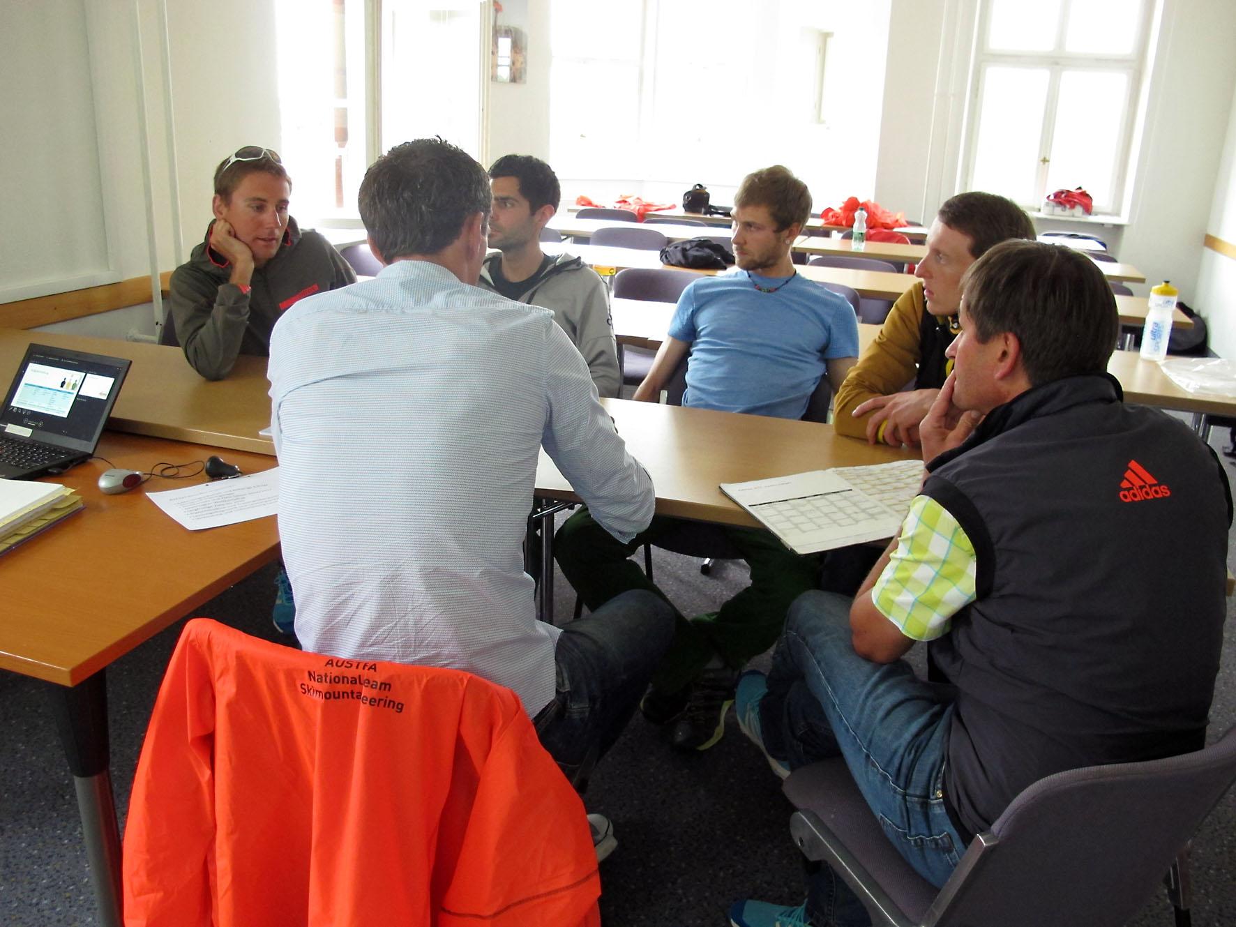 Team meeting kennenlernen