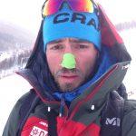 Anderl Hartmann, geplagt von der chinesischen Kälte