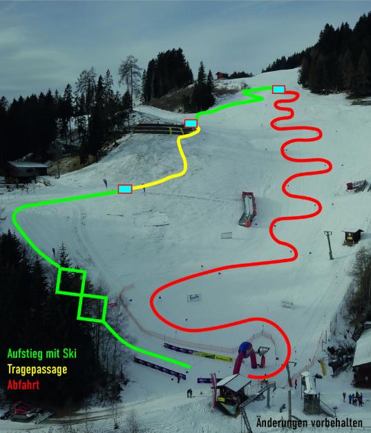 Strecke Compedal Sprint 2020