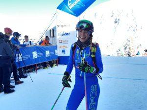 Alba de Silvestro Platz 1 im Weltcup Individual