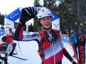 Paul Verbnjak wird dritter beim Sprint Junioren
