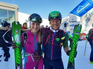 Thomas Wallner und Johanna Hiemer Individual Alpencup
