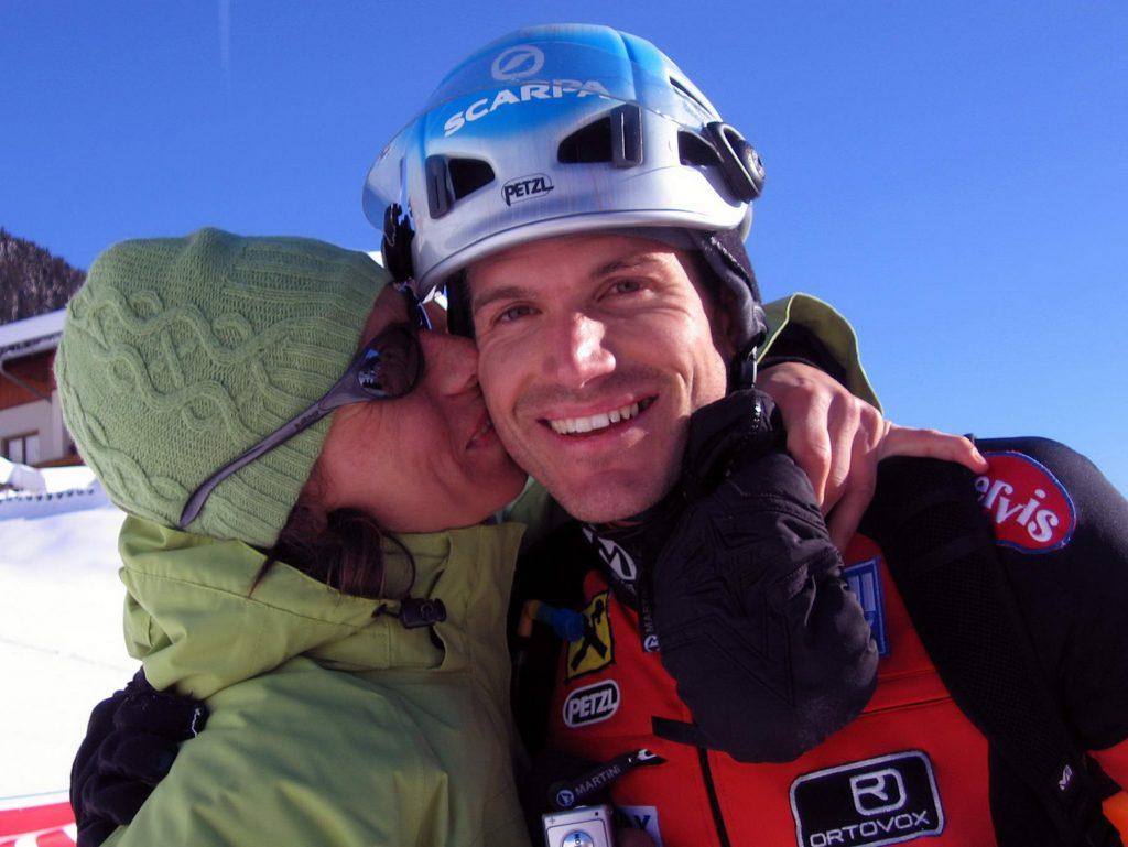 lesachtaler tourenlauf 2007 alex fasser mit freundin angelika